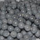 Bola de cerámica titanizada gris de 10 x 10 mm.
