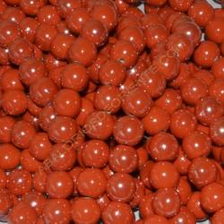 Bola de cerámica titanizada naranja de 13,8 x 14,8 mm.