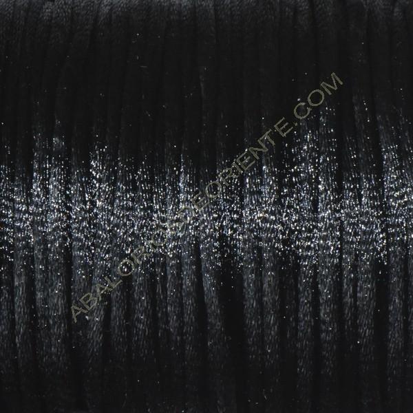 Cola de ratón color negro 2 mm 91 metros
