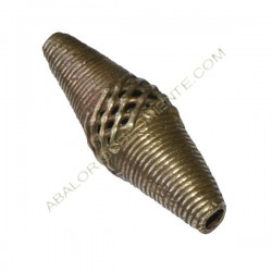 Entrepieza bronce 2. 40-45 x 15 x 15 mm.
