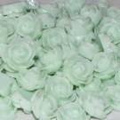 Flor resina verde 13 x 6 mm