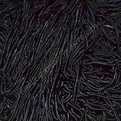 Cordón Soutache negro