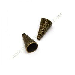 Cono bronce 25 x 15 mm