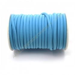 Cordón de Lycra elástico 5 mm azul claro