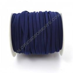 Cordón de Lycra elástico 5 mm azul marino