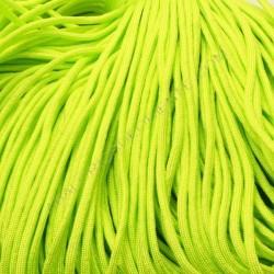 Cordón Paracaidista verde flúor 4 mm