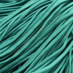 Cordón Paracaidista verde esmeralda 4 mm
