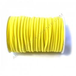 Cordón de Lycra elástico 5 mm naranja