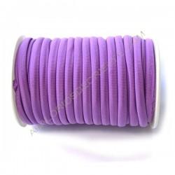 Cordón de Lycra elástico 5 mm amarillo
