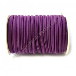 Cordón de Lycra elástico 5 mm lila