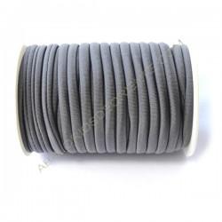 Cordón de Lycra elástico 5 mm granate