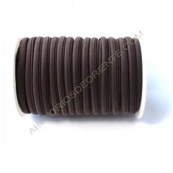 Cordón de Lycra elástico 5 mm gris