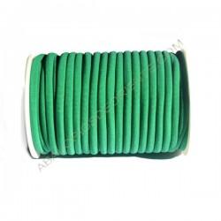 Cordón de Lycra elástico 5 mm verde esmeralda