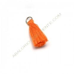 Pompón de algodón de 25 mm naranja