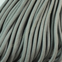 Cordón Paracaidista gris 4 mm