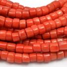 Coral naranja natural 7-8 x 8-9 mm