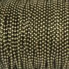 Cadena de bolas de 1,5 mm bronce