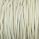 Algodón encerado 1,4 mm blanco