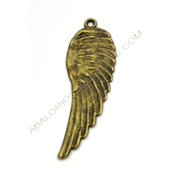 Colgante ala bronce