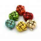 Buda colores 20x20 turquesa sintéstica