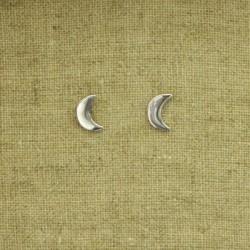 Pendientes de plata 925 luna