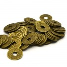 Monedas chinas bronce de 13,5 mm