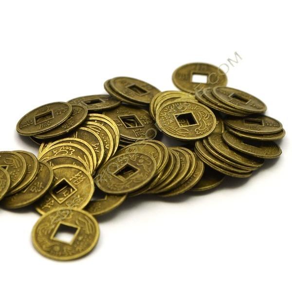 Monedas chinas bronce de 13,5 mm