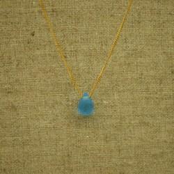 Ágata azul glass