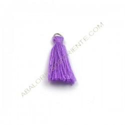 Pompón de algodón de 25 mm lila