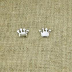 Pendientes de plata 925 corona