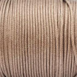 Algodón encerado 1,5 mm bronce