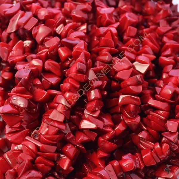 Coral natural en chips