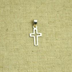 Charm de plata 925 cruz calada