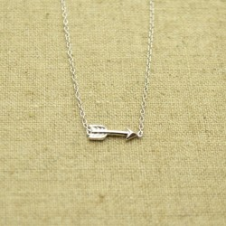 Cadena de plata 925 con flecha