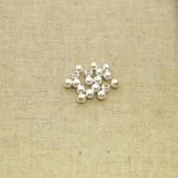 Bola lisa de 5 mm de plata 925