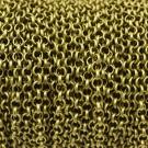 Cadena de hierro bronce eslabón circular de 5 mm