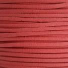 Cordón de antelina coral 3 x 1.5 mm