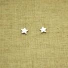 Pendientes de plata 925 estrella