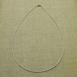 Cadena de plata 925 semirrígida