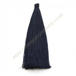 Pompón de algodón de 120 mm azul marino