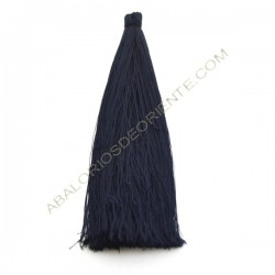 Pompón de algodón de 70 mm azul marino