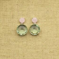 Calcedonia cuarzo rosa