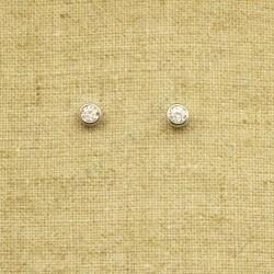 Pendientes de plata 925 con Circonita