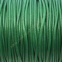 Algodón encerado brillante 2 mm verde