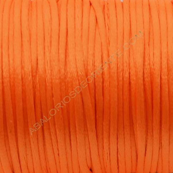 Cola de ratón color naranja vivo 2 mm