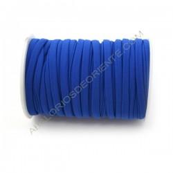 Cordón de Lycra elástico 5 mm azulón