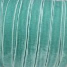 Cinta de terciopelo elástico azul verde menta 10 mm