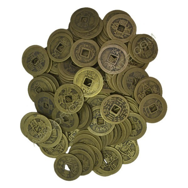 Monedas chinas bronce de 23-24 mm