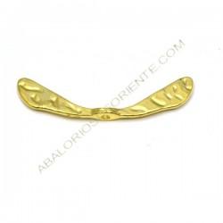 Entrepieza de aleación de Zinc alas doradas