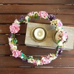 Tocados y Coronas de flores - Abalorios de Oriente  d180aae5c22